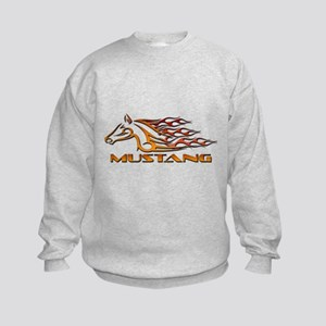 Mustang Tribal Kids Sweatshirt