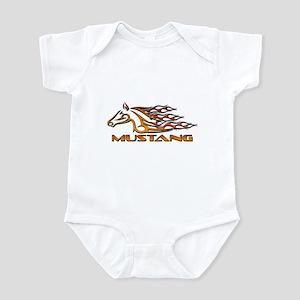 Mustang Tribal Infant Bodysuit