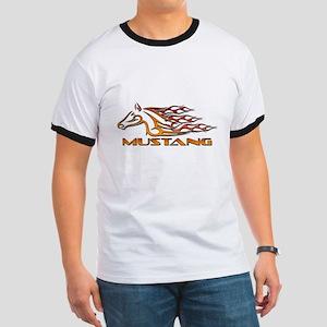 Mustang Tribal Ringer T