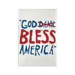 God Bless America Rectangle Magnet (10 pack)