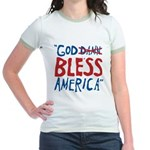 God Bless America Jr. Ringer T-Shirt