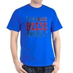 God Bless America Dark T-Shirt