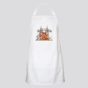 Mustang Tribal with Flames BBQ Apron