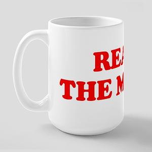 Read the Memo (Pedro) Large Mug