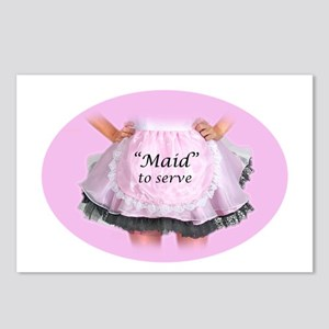 Maid to Serve Postcards (Package of 8)