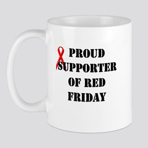 Proud Supporter of Red Friday Mug