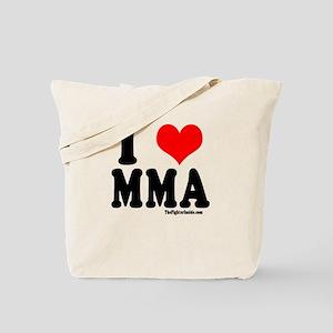 I Love MMA Tote Bag