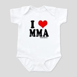 I Love MMA Infant Bodysuit