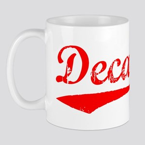 Vintage Decatur (Red) Mug