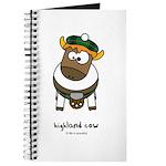 highland cow Journal
