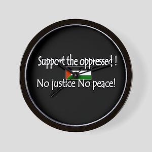 Keep the peace Wall Clock