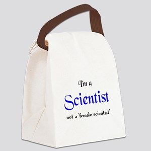 just a scientist Canvas Lunch Bag