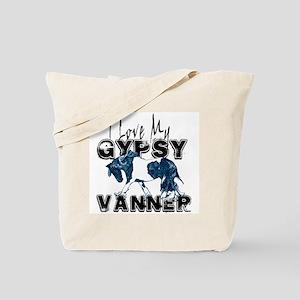 Gypsy Vanner Horse Tote Bag