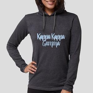 Kappa Kappa Gamma Script Womens Hooded Shirt