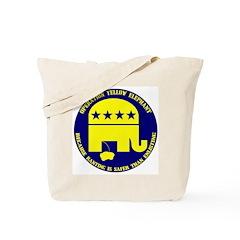 Operation Yellow Elephant Tote Bag