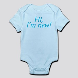 Hi, I'm New! Infant Bodysuit