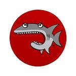 """Shark 3.5"""" Button (100 pack)"""