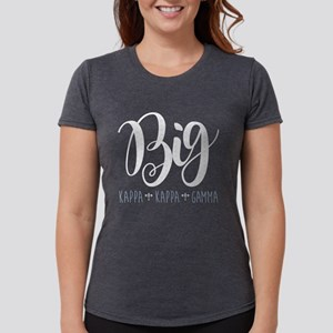 Kappa Kappa Gamma Big Womens Tri-blend T-Shirt