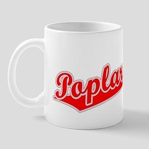 Retro Poplar Bluff (Red) Mug