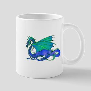 Bummed and Blue Dragon Mug