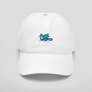 Bummed and Blue Dragon Cap