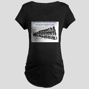 The Games of War 40 Maternity Dark T-Shirt
