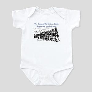 The Games of War 40 Infant Bodysuit