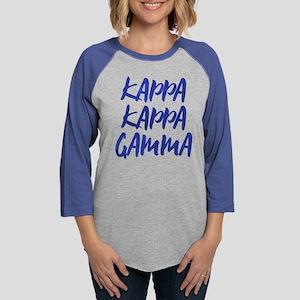 Kappa Kappa Gamma Italic Womens Baseball Tee