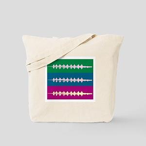THREE CREWS DARK Tote Bag