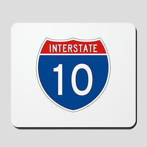 Interstate 10, USA Mousepad
