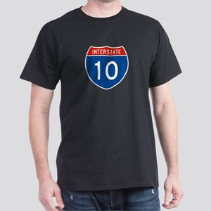 Interstate 10, USA Dark T-Shirt