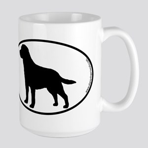 Labrador SILHOUETTE Stainless Steel Travel Mugs