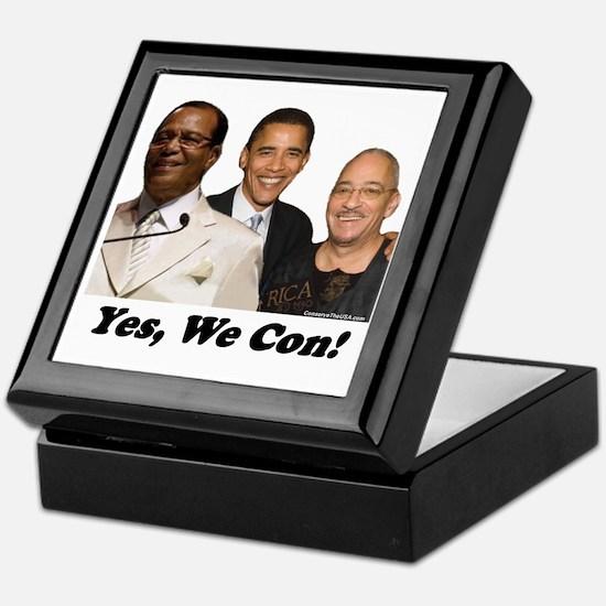 """Yes, We Con"" Keepsake Box"