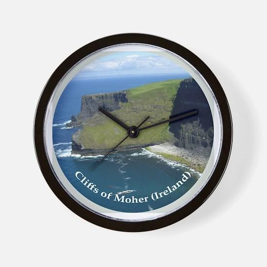 Cute Cliffs of moher Wall Clock
