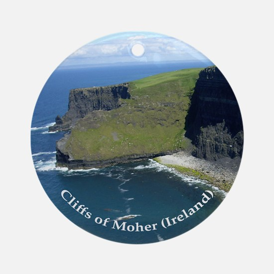 Cliffs Of Moher (Ireland) - Ornament (Round)