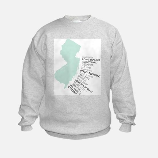 NJ SHORE Hoodie Sweatshirt