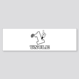 #1 - UNCLE Bumper Sticker