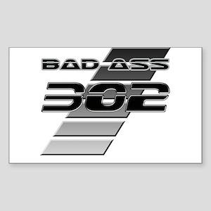 Bad Ass 302 Rectangle Sticker