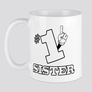 #1 - SISTER Mug