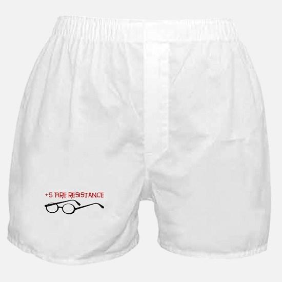+5 Fire Resistance Boxer Shorts