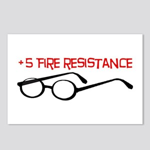 +5 Fire Resistance Postcards (Package of 8)