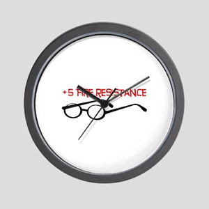 +5 Fire Resistance Wall Clock