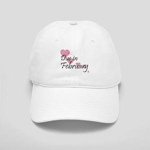 Due February Cascading Hearts Cap