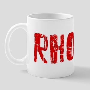 Rhodes Faded (Red) Mug