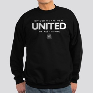 Newcastle United We Are Strong Sweatshirt (dark)
