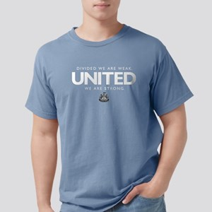Newcastle United We Are Mens Comfort Colors Shirt