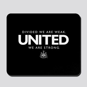 Newcastle United We Are Strong Mousepad