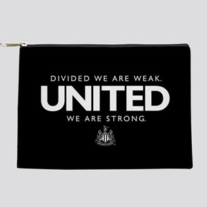 Newcastle United We Are Strong Makeup Bag