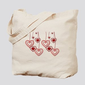 MANY HEARTS Tote Bag
