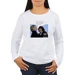 Hillary Clinton Women's Long Sleeve T-Shirt